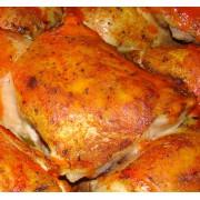 Куриное бедро жареное