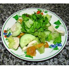 Салат из курочки с грибами