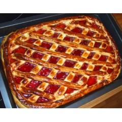 Пирог открытый с джемом